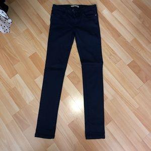 ZARA Navy Blue Jeans